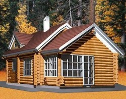 Виды и особенности домов из бревна оцилиндрованного
