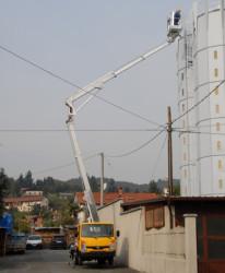 Новшество в строительстве – подъемник телескопический
