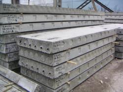 Использование железобетонных плит
