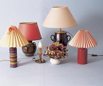 Как своими руками сделать абажур для ламп