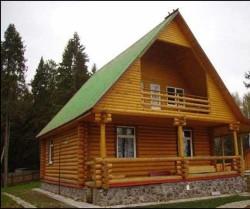 Преимущества срубов домов в готовом виде