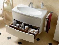 Особенности тумбы с раковиной для ванной и критерии ее выбора