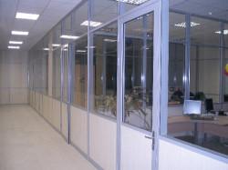 Разновидности офисных перегородок