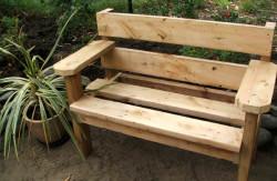 Особенности скамеек для сада