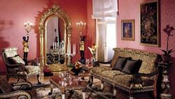Гостиная с итальянской мебелью – верх совершенства!