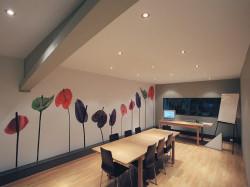 Принцип работы акустических натяжных потолков