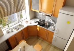 Создаем дизайн небольшой кухни