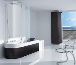 Ванна и душ – удобная комбинация