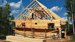 Как построить загородный коттедж