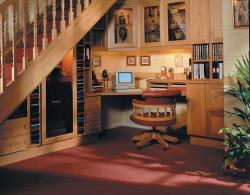 Территория под лестницей: многообразие решений