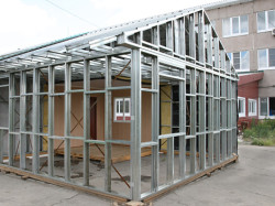 Строительство дома на каркасной основе