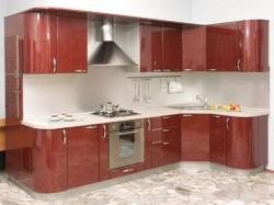 Правила расставления кухонной мебели