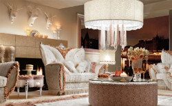 Интерьер с итальянской мебелью