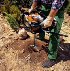 Земляной мотобур – что это такое?