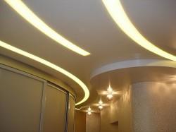 Светодиодная лента в интерьере квартиры или дома