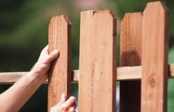 Особенности деревянных заборов