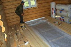 Особенности гидроизоляции полов в деревянных домах