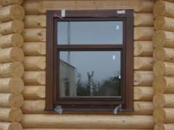 Монтаж пластиковых окон в деревянных домах