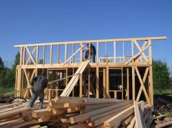 Основные тонкости возведения загородных домов из дерева