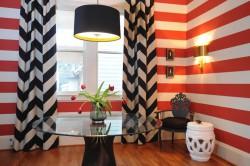 Использование штор в интерьере гостиной