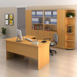 Современный офис – комфорт и стиль при помощи офисной мебели на заказ