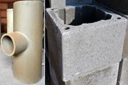 Применение керамических дымоходов