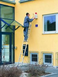 Популярность алюминиевых трехсекционных лестниц