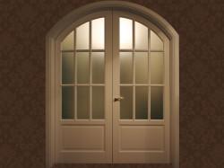 Изящное решение для интерьера: межкомнатные двухстворчатые двери