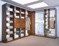 Гардеробные комнаты – разнообразие вида