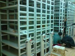 Передвижные архивные стеллажи