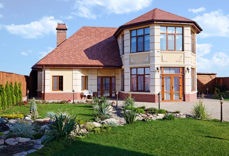 Гостевые Дизайн фасады частных домов фото