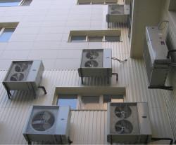 Монтаж совмещенной системы вентиляция и кондиционирования