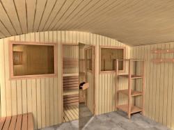 Внутренняя отделка бани – современные материалы