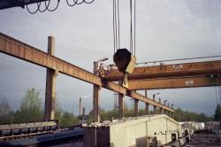 Мостовые краны: сущность и классификация
