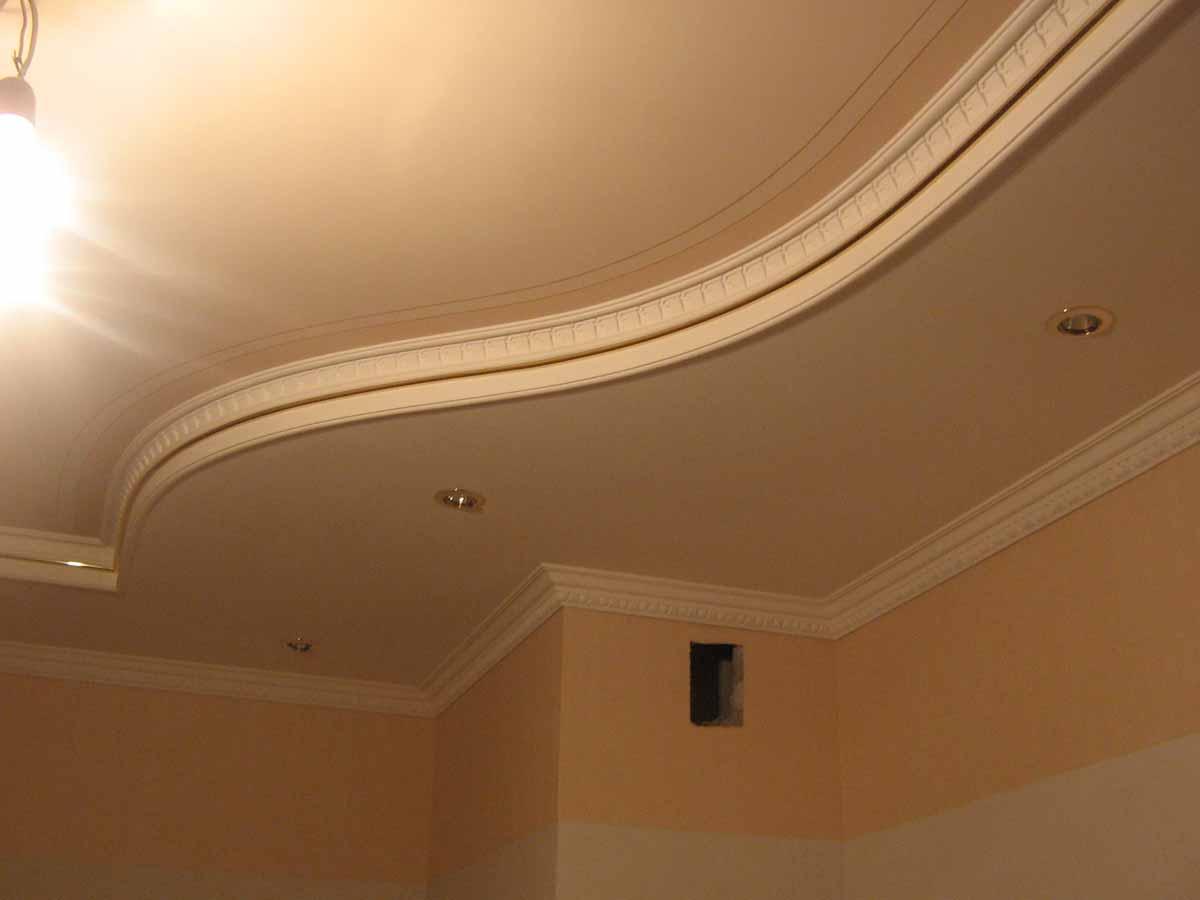 Сделать лепнину на потолок 22