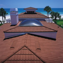 Как рассчитать композитную металлочерепицу на крышу