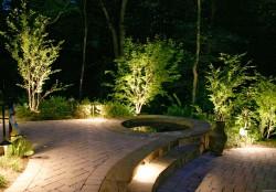 Ландшафтное освещение: монтаж и варианты освещения