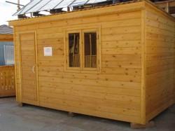Деревянные бытовки: преимущества и особенности конструкции