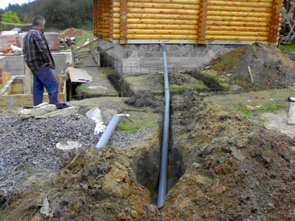 Как сделать канализацию для дома своими руками 12