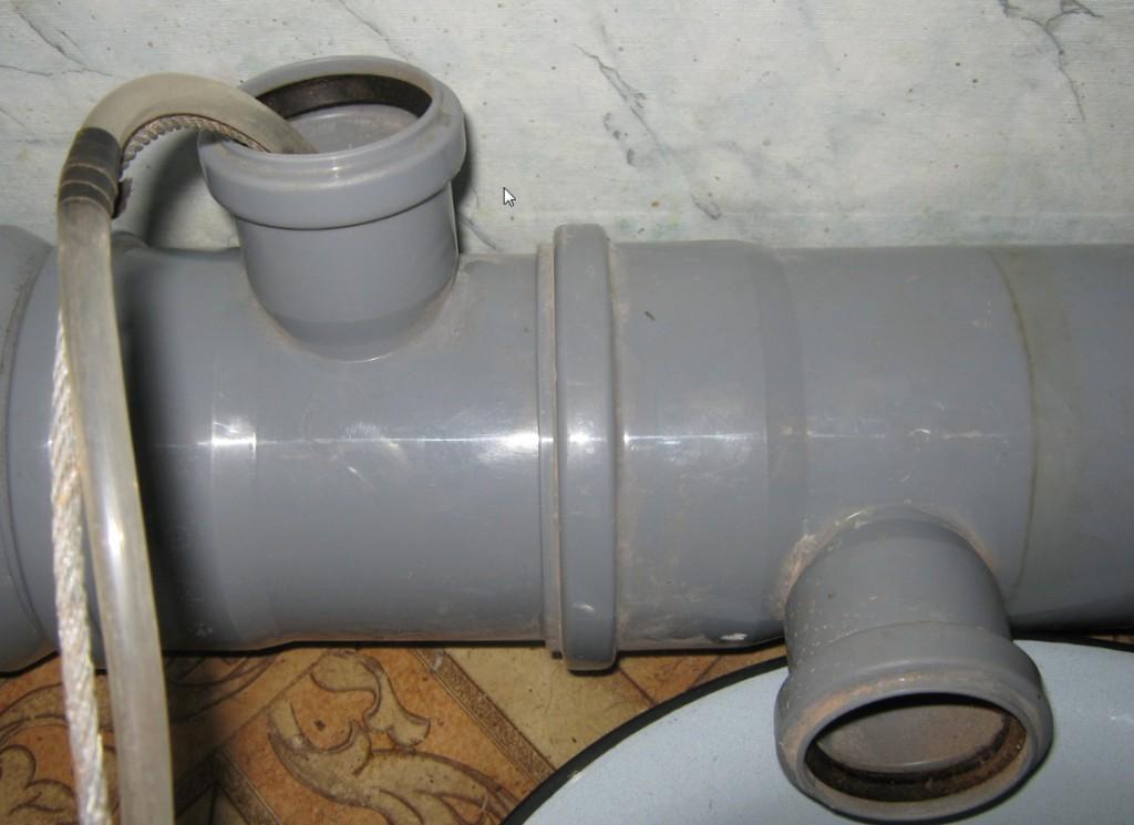 Составные элементы канализации