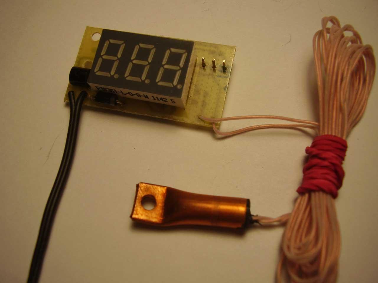 Как самому сделать датчик температуры 66