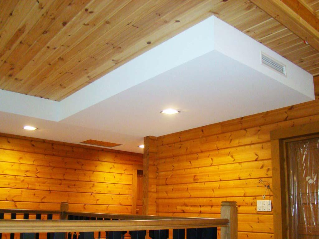 Как лучше сделать потолок в доме фото