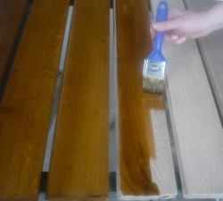 Как правильно морить древесину