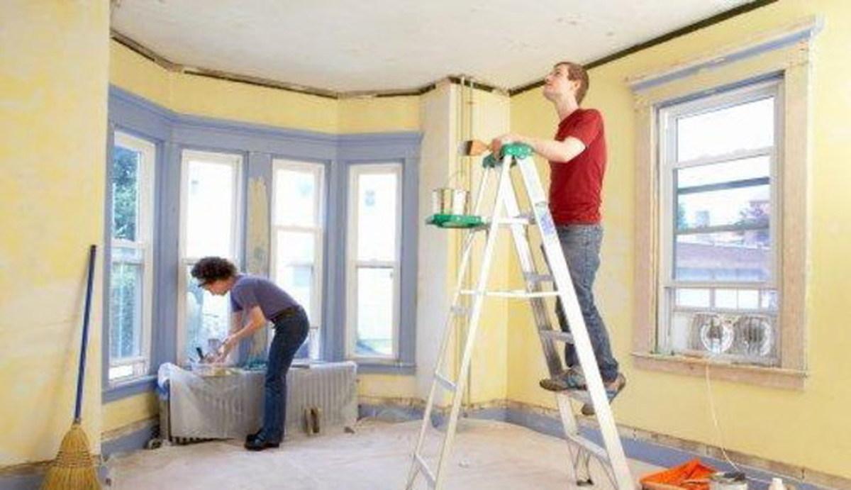 Фото домов с ремонтом своими руками