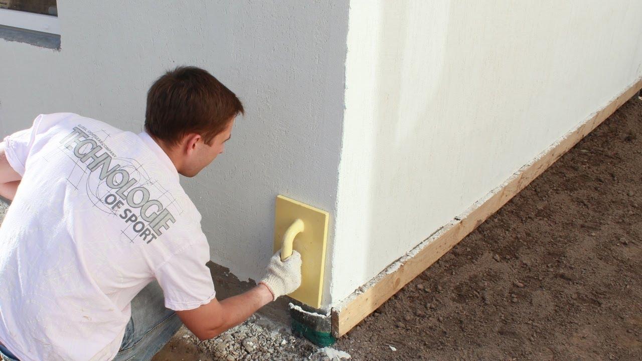 Процесс подготовки стен